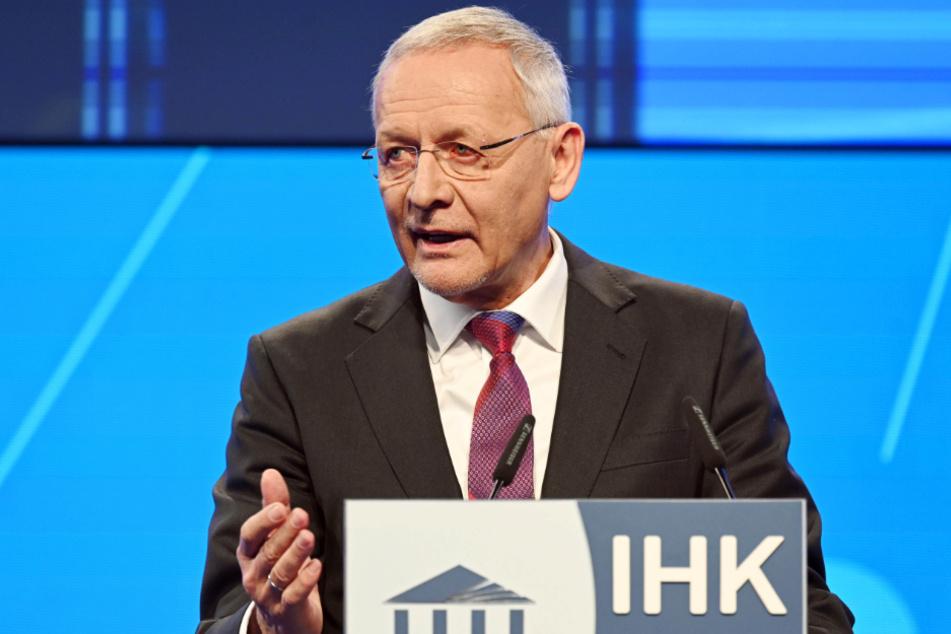IHK-Mann Wolfgang Grenke.