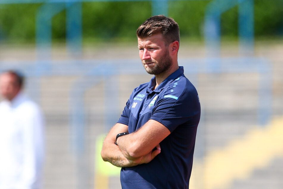 CFC-Coach Daniel Berlinski (35) trifft mit seinen Jungs am 23. Juli auf Tennis Borussia Berlin.