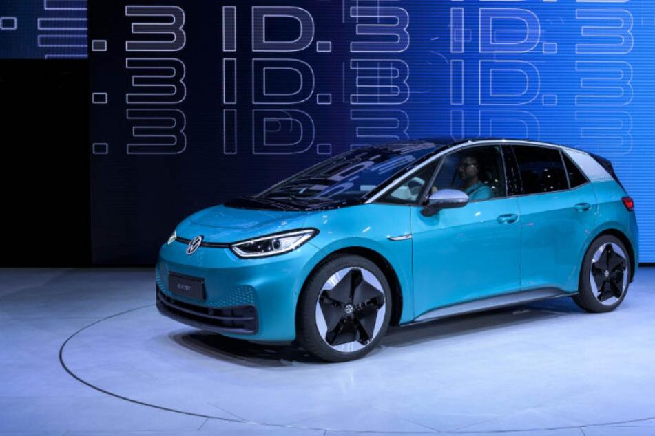 Der neue ID.3 von VW soll ab November in Zwickau gebaut werden.