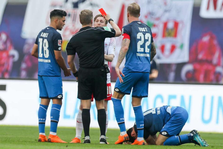 Saison-Aus: Drei Spiele Sperre für Leipzigs Forsberg