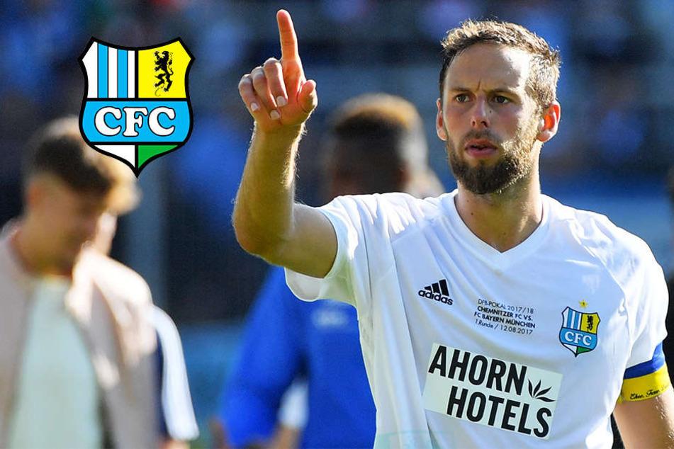 CFC-Kapitän Endres geht von Bord und bleibt in der Dritten Liga