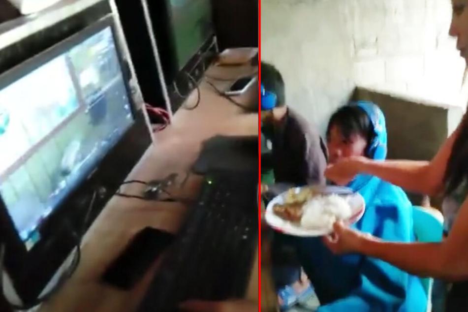 Mutter muss Sohn (13) füttern, weil dieser so süchtig nach Videospielen ist