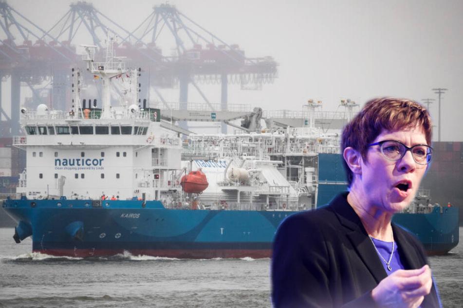 Hamburg: Große Ehre: CDU-Chefin tauft weltgrößtes Flüssiggas-Tankschiff