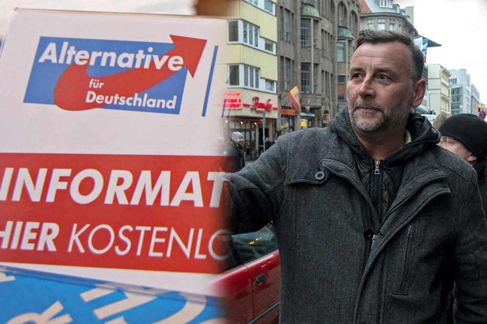 AfD will nichts mehr mit Lutz Bachmann zu tun haben! Mit PEGIDA aber schon