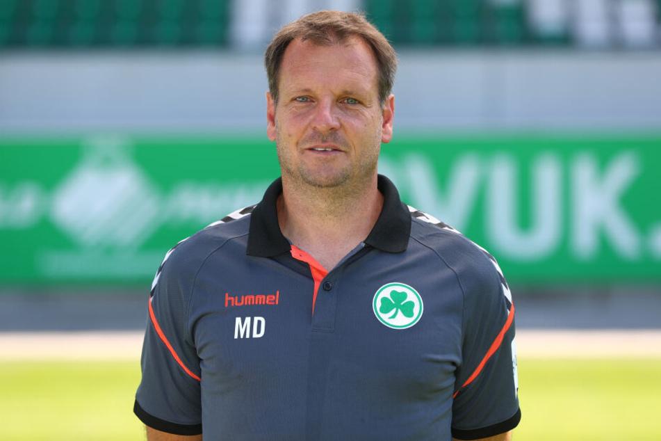 Herthas neuer Co-Trainer Mirko Dickhaut war zuletzt tätig bei der SpVgg Greuther Fürth.