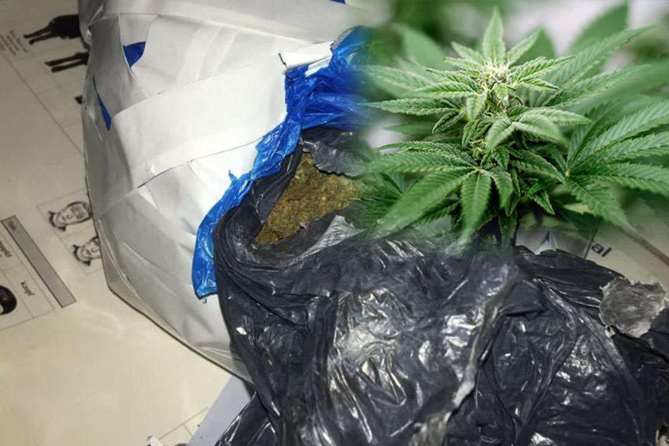 Schwarzfahrer transportiert kiloweise Drogen im Rucksack