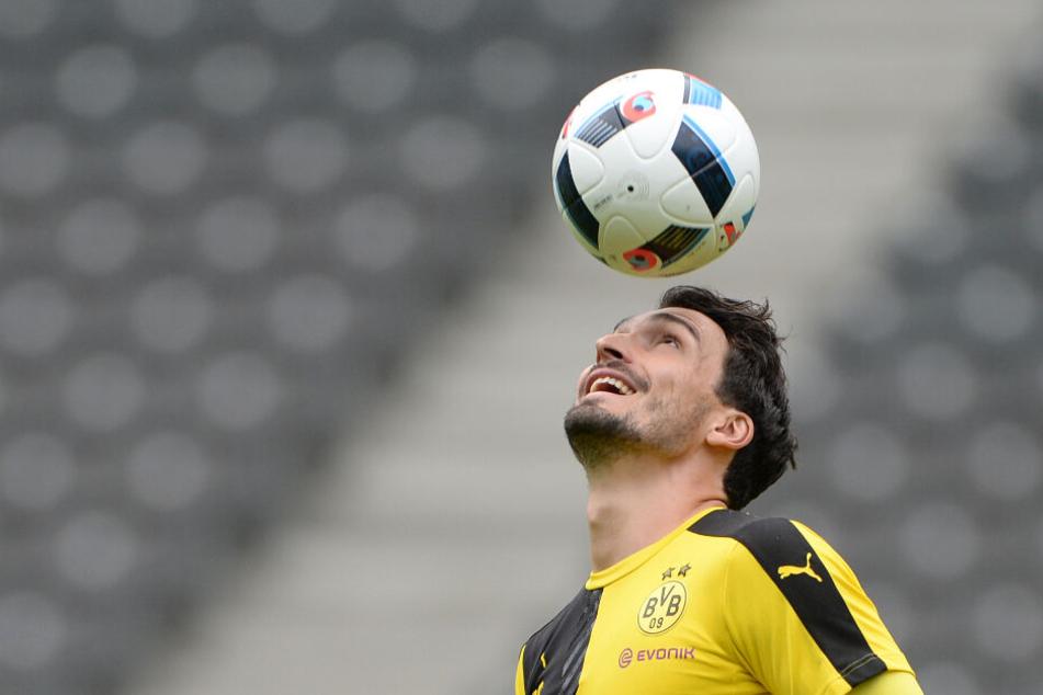 Von 2008 bis 2016 spielte Mats Hummels für Borussia Dortmund.