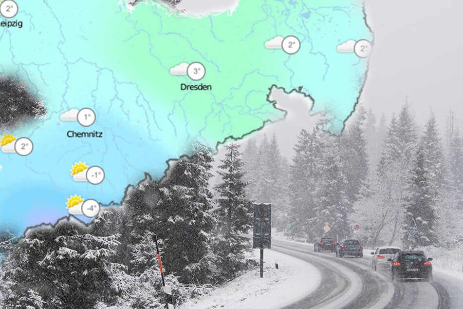 Zieht Euch warm an! In Sachsen wird es an diesem Wochenende so richtig kalt!