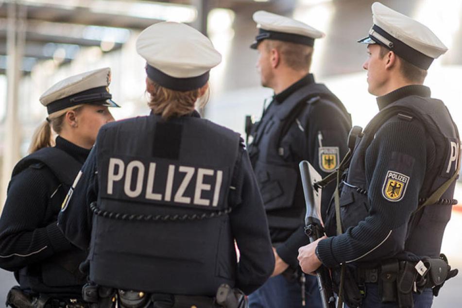 Ein Reichsbürger randalierte am Montagnachmittag am Bahnhof Aschersleben. Bundespolizisten vernahmen den Mann. (Symbolbild)