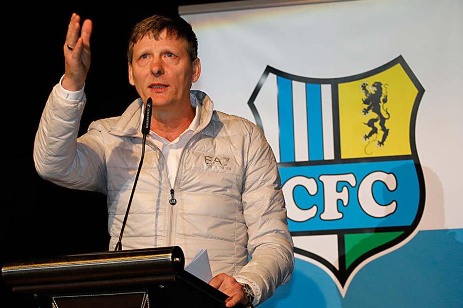 Uwe Bauch ist der neue starke Mann beim CFC.