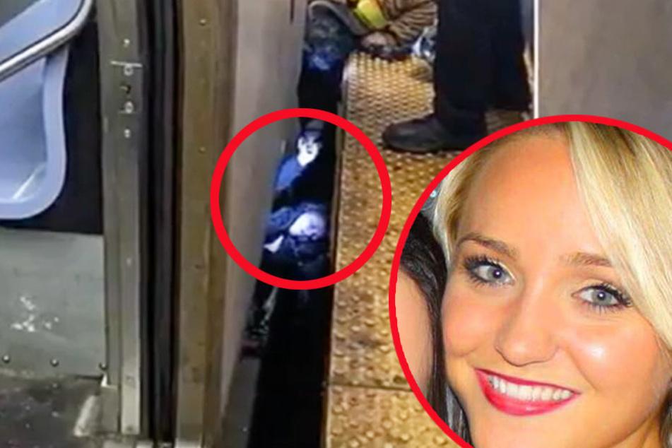 Die junge Jura-Studentin wurde zwischen Metro und Bahnsteig eingeklemmt.