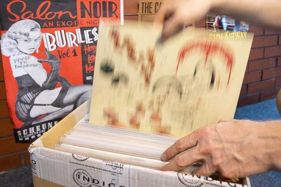 """Im """"Underworld Recordstore"""" gibt es viele musikalische Raritäten."""