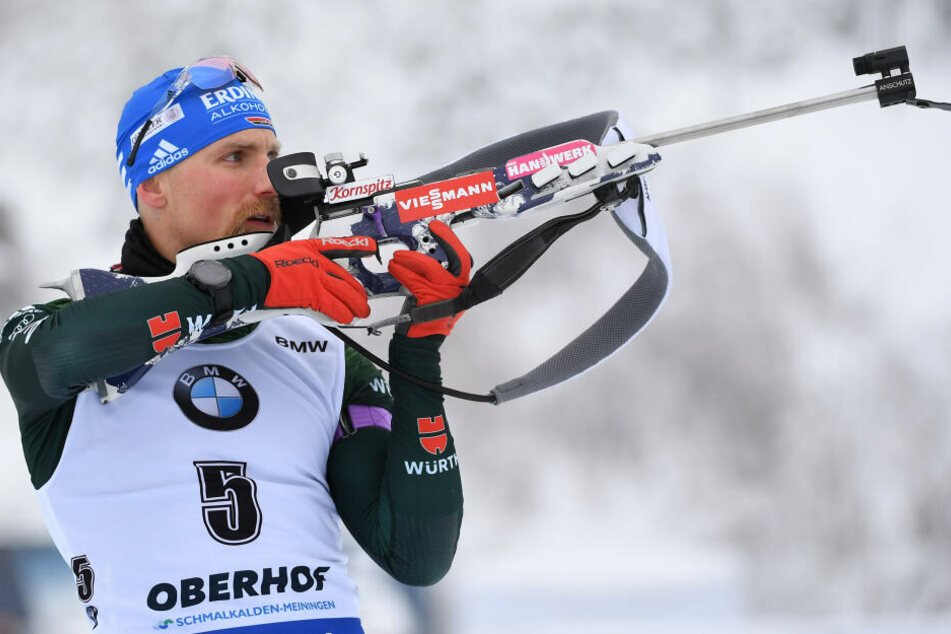Biathlon-Star Erik Lesser hat seine Waffe wieder, doch es gab noch mehr Probleme