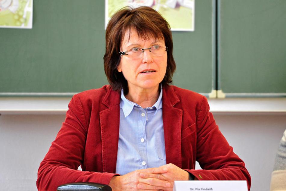 Pia Findeiß (61, SPD) muss sich einiges gefallen lassen.