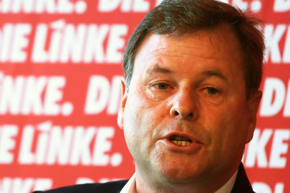 Christian Görke (56) tritt nicht mehr als Linken-Landeschef in Brandenburg an.