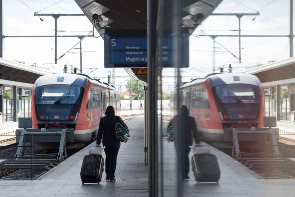 Der Bahnhof in Erfurt wird 2017 zum ICE-Knotenpunkt.