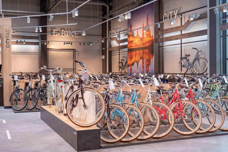 sachsens sch nster fahrradladen feiert heute neuer ffnung. Black Bedroom Furniture Sets. Home Design Ideas