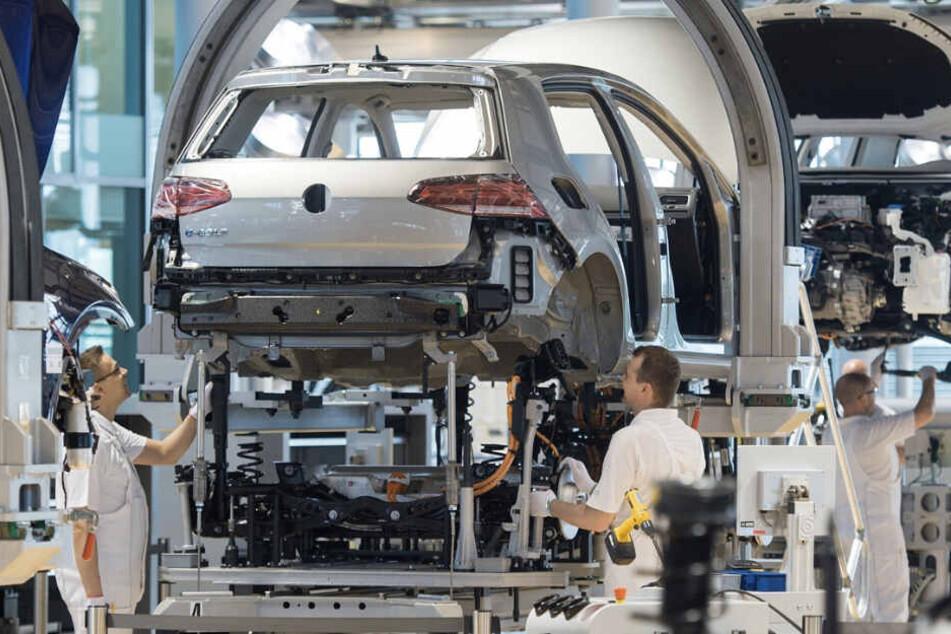 Noch einmal Produktions-Rekord für den VW e-Golf