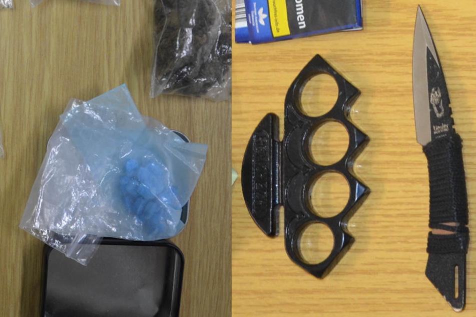 Drogen, Waffen, Sprengstoff: Polizei nimmt Teenie-Pärchen hops