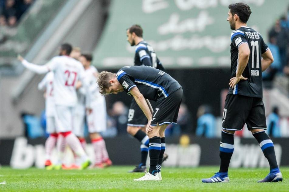 Gegen den 1. FC Köln ging der DSC als Verlierer vom Platz.