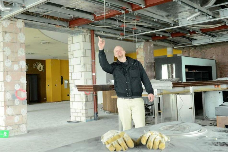 Joel Rosenberg (27) freut sich: Es geht weiter im Luisenhof.