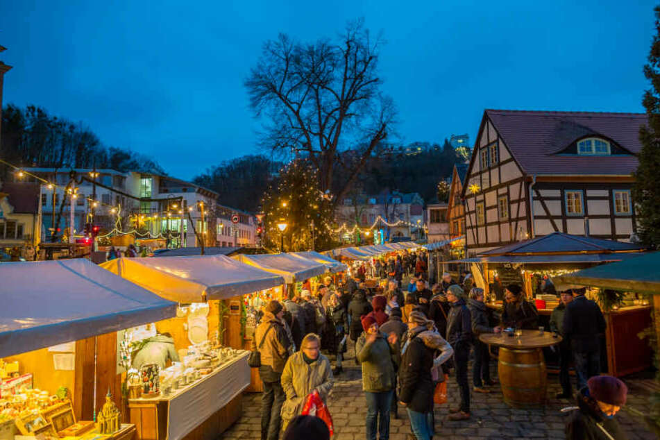 Sehen wir solch  idyllische Bilder nie wieder? Der Weihnachtsmarkt  ist in Gefahr.