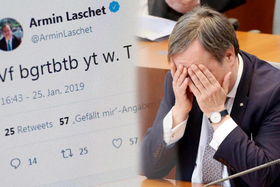 Kann ja mal passieren: Twitter-Unfall bei NRW-Ministerpräsident!