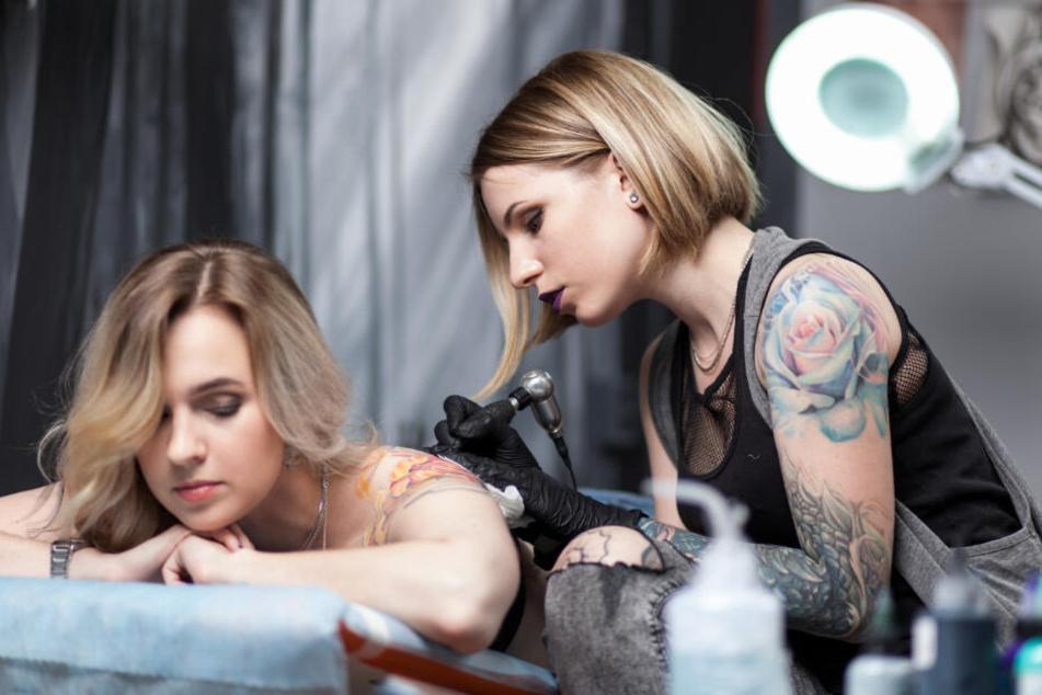 Die Tattoo-Szene kann nicht auf Green 7 und Blue 15 verzichten.