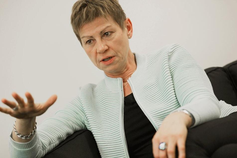 Berlins Sozialsenatorin Elke Breitenbach (Die Linke) .