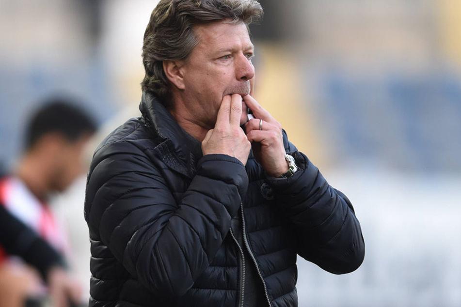Neue Anweisung: Fabian Klos wird von dem neuen Trainer Jeff Saibene meist nur als Joker gebracht.