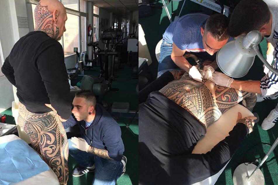 Auf penis tattoo den Präsident auf