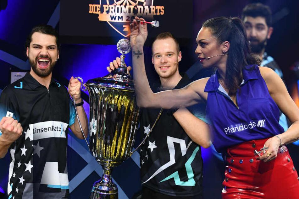 Promi Darts WM: Lilly Becker platzt die Hose!