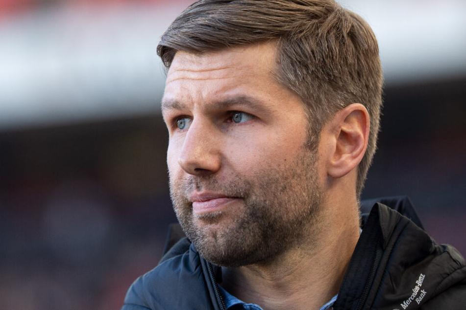 Der neue kritische Blick von der Seitenlinie: VfB-Sportvorstand Thomas Hitzlsperger.