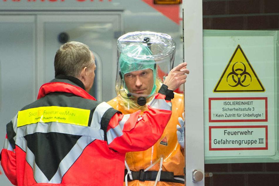 In der Uniklinik Frankfurt wurde ein potenziell gefährlicher Keim entdeckt.