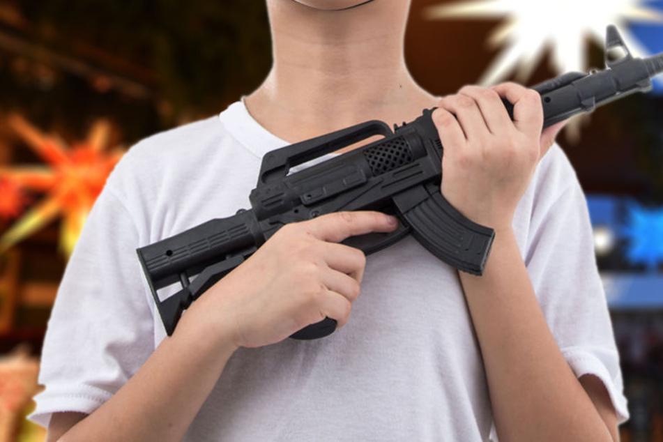 Laut Kilian gibt es nur einen Stand auf dem Markt, der Spielzeugpistolen verkaufen darf. (Symbolbild)