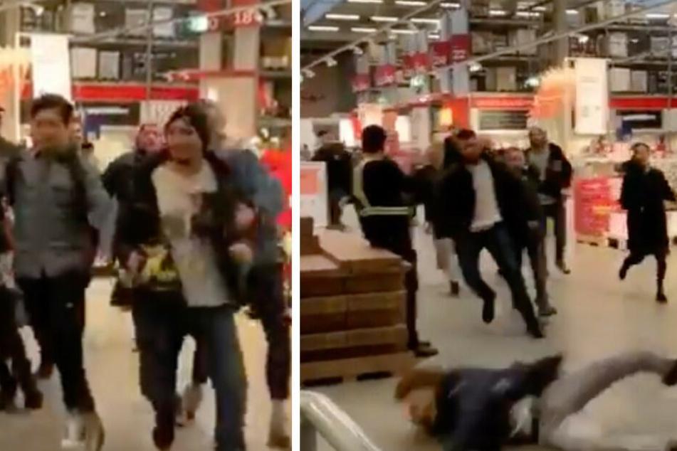 Ausnahmezustand bei Ikea: Wieso stürmen hunderte Leute das Möbelhaus?