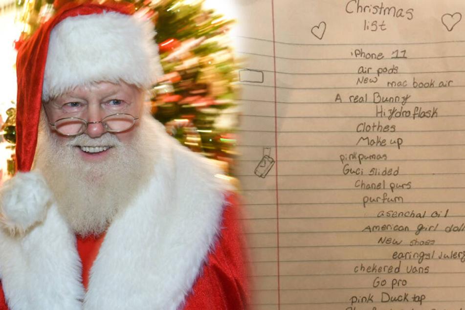 Bald ist schon wieder Weihnachten. Will der Weihnachtsmann diese Wünsche erfüllen, muss er sich sputen und tief in die Tasche greifen. (Symbolbild).