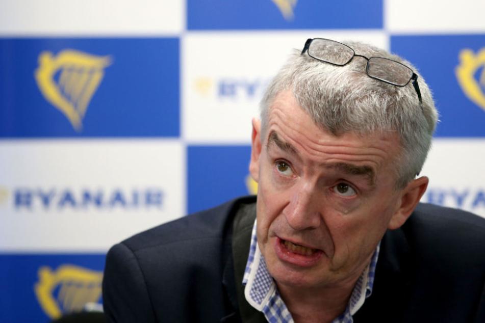 In einer Videobotschaft warnte der Ryanair-Chef vor weiteren Streiks.