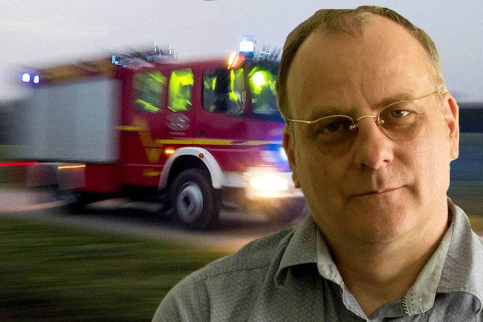 Christoph Gaitzsch (51) von der Chemnitzer FDP fühlte sich durch das Martinshorn belästigt.