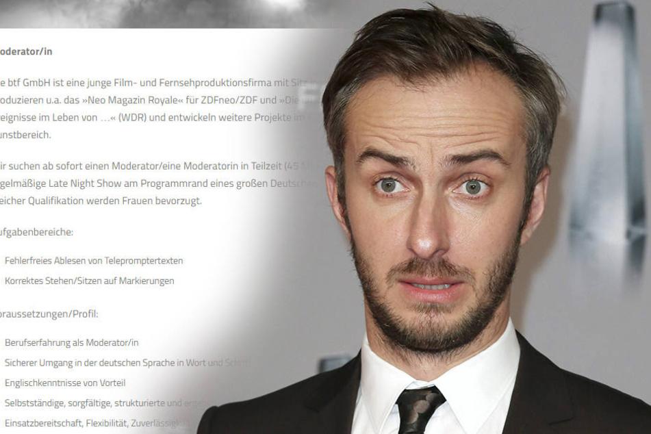 """Auf Jan Böhmermanns (36) Facebook-Seite geht's nach seinem """"medialen Schwächeanfall"""" heftig zu Diskussionssache..."""