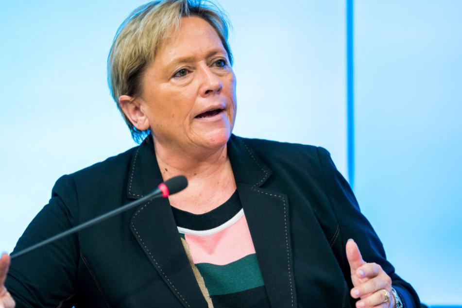 Susanne Eisenmann geht als CDU-Spitzenkandidatin in den Wahlkampf.
