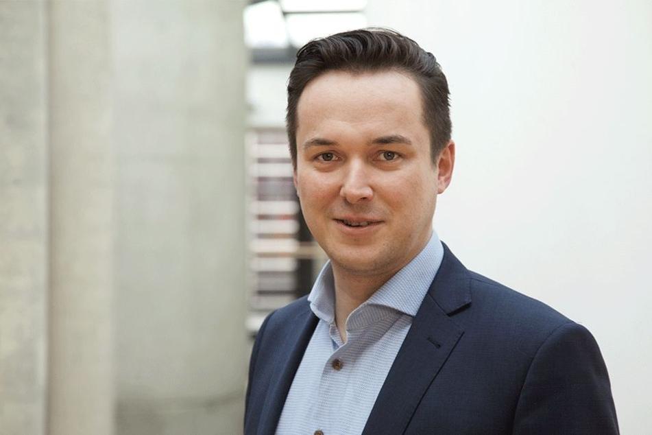 FDP-Politiker Robert Malorny (39).