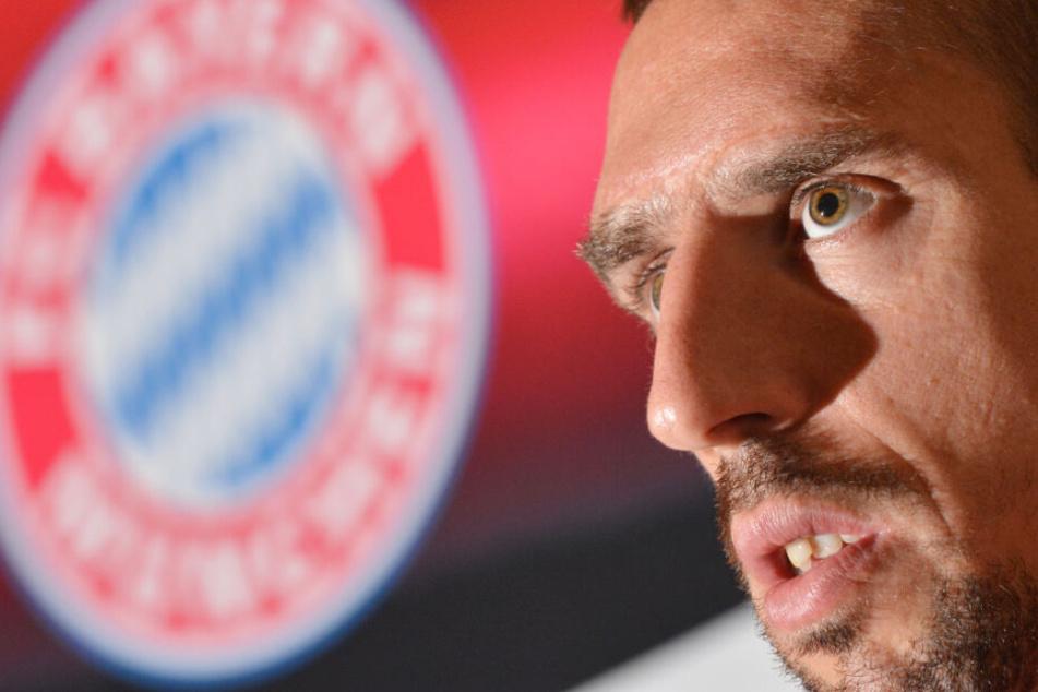 Franck Ribéry peilt mit dem FC Bayern München die nächste Meisterschaft an.