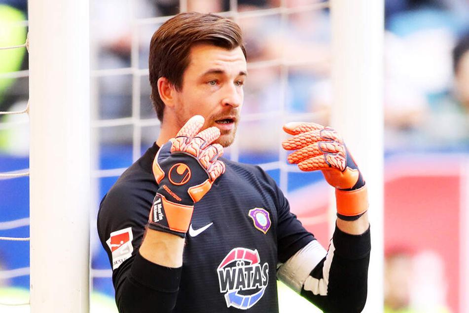 FCE-Keeper Martin Männel strahlt im Kasten stets Ruhe und Gelassenheit aus.
