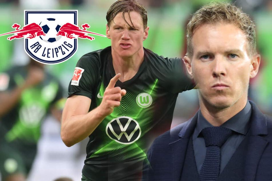 Nagelsmann warnt RB-Spieler vor diesem Wolfsburger Stürmer