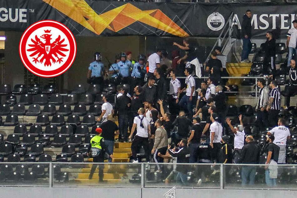 Eintracht Frankfurt: Ausschreitungen vor Europa-League-Spiel in Portugal
