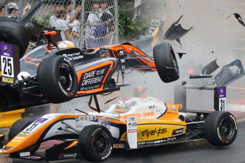 Sophia Flörsch war Mitte November vergangenen Jahres beim Weltfinale der Formel 3 verunglückt.