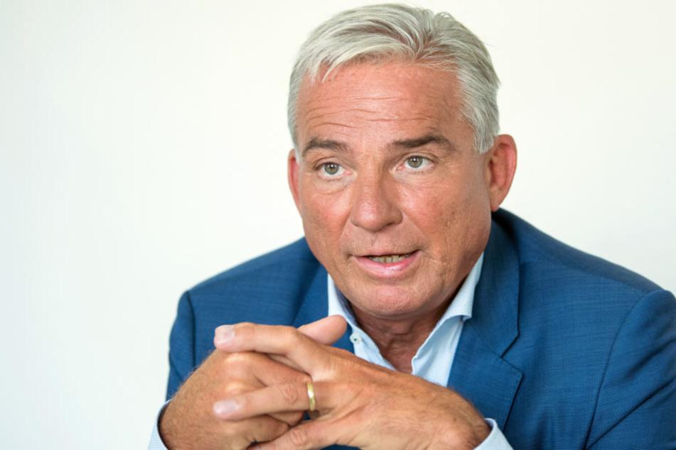 Muss sich vorm Stockacher Narrengericht verantworten: Innenminister Thomas Strobl.