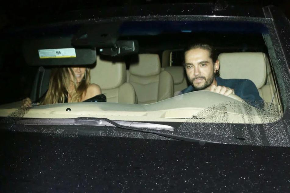 Heißes Date? Heidi Klum mit Tom Kaulitz erwischt