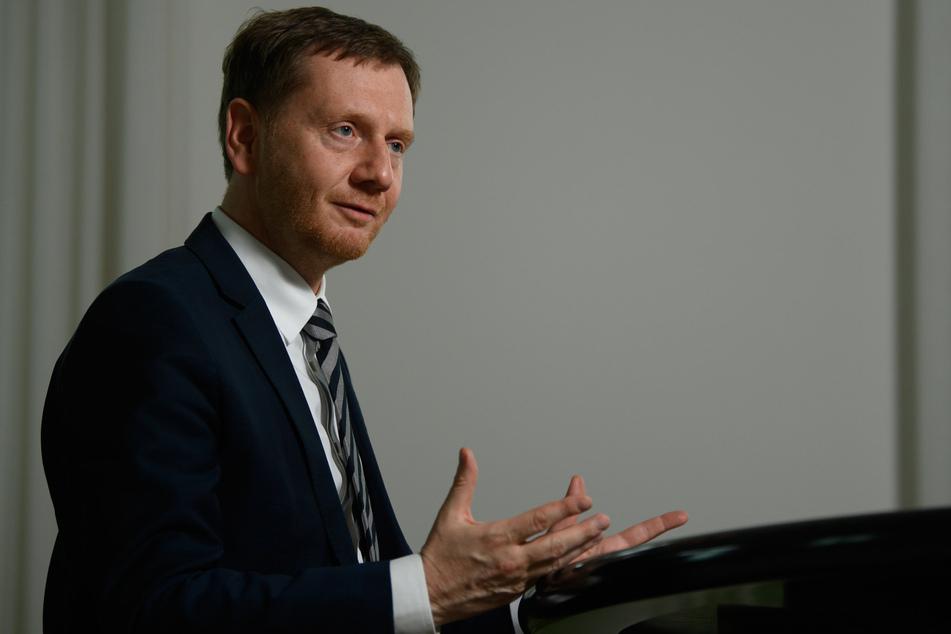 In Bezug auf die Wirtschaft hat MP Kretschmer noch einige Asse im Ärmel.